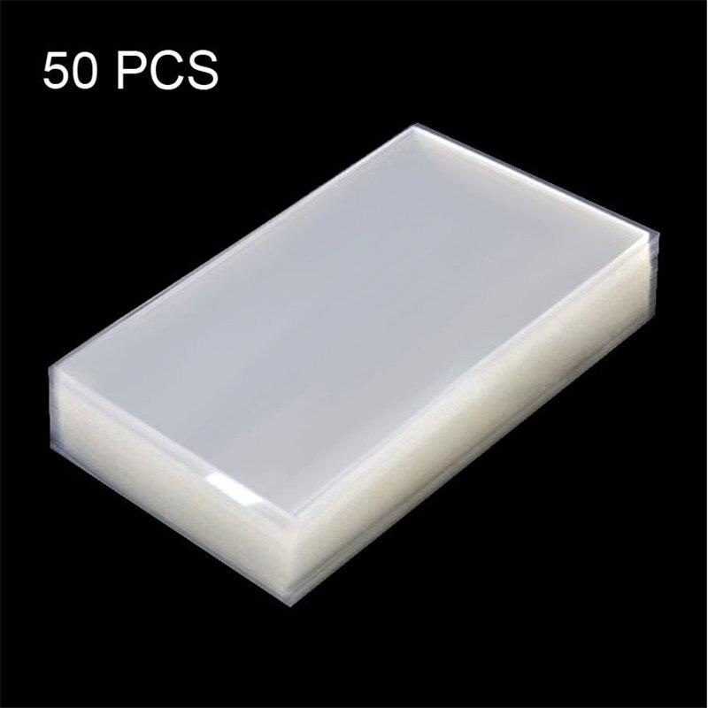 50 peça original oca para samsung galaxy mega 6.3/i9200 display lcd tela óptica adesivo claro adesivo adesivo Adesivos para celular     - title=