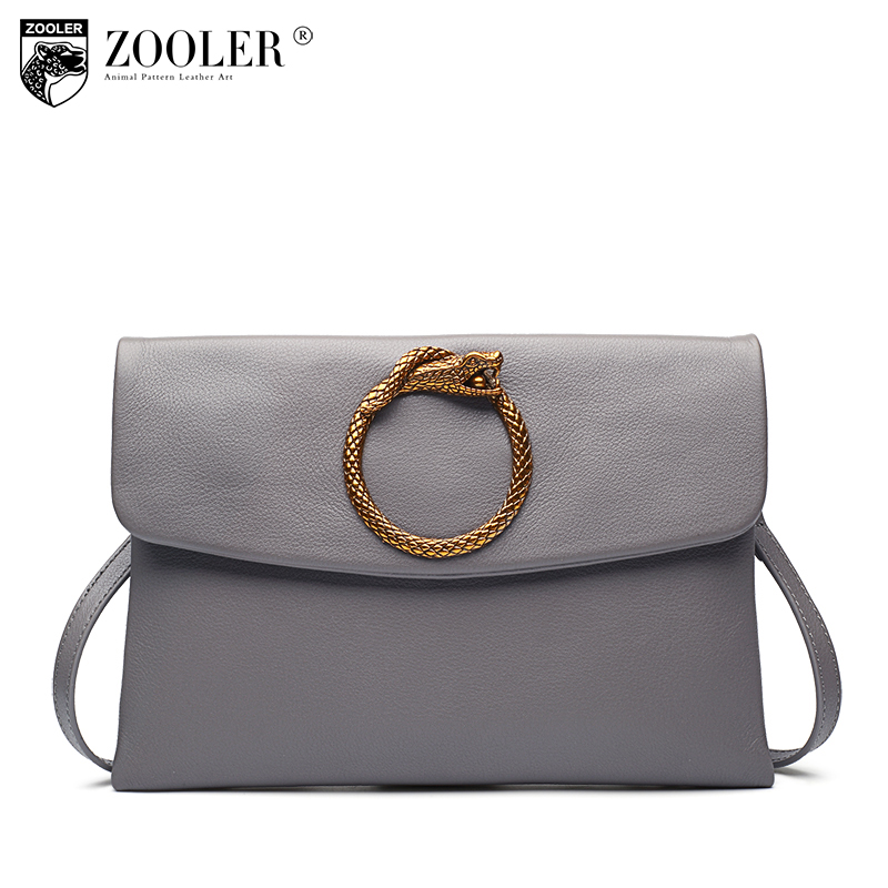 11-11 hot ZOOLER 2017 100% cowhide women messenger bags women shoulder bag genuine leather bags round designed delicate#s116