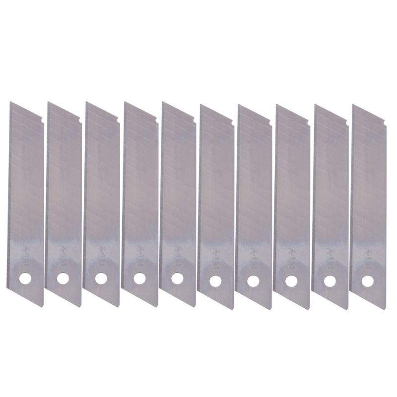 2020 New 10 Pcs Boxcutter Snap Off Replacement Blades 9/18mm Ceramic Utility Knife Blades