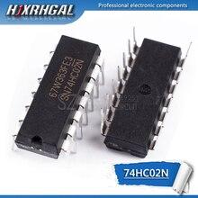 10 adet 74HC02N DIP14 74HC02 DIP SN74HC02N 7402