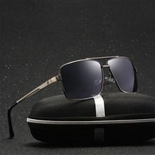Солнцезащитные очки мужские поляризованные 2018 Mercedes люксовый бренд дизайн UV400 высокое