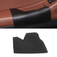 For BMW 5 Series F10 F18 2011 - 2017 Microfiber Leather Car Interior Driving Side Door Handle Armrest Panel Pull Trim Cover car door armrest panel microfiber leather for bmw 5 series f18 2010 2017