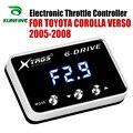Автомобильный электронный контроллер дроссельной заслонки гоночный ускоритель мощный усилитель для Toyota Corolla Verso 2005-2008 Тюнинг Запчасти аксе...