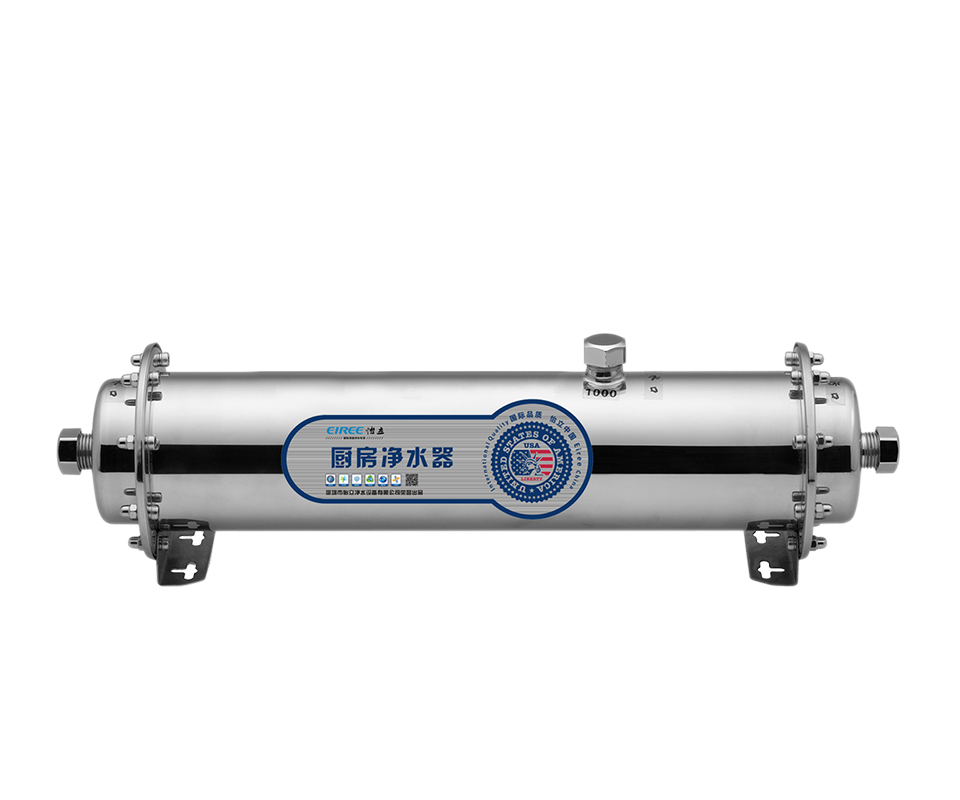 Factory 1000L/H UF Water Purifier with stainless steel 304 housing and UF membrane