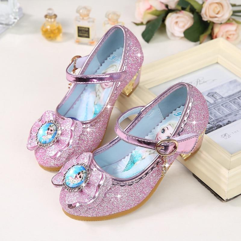 Disney Frozen Princess Kids Leather