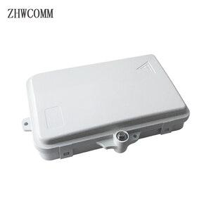 Image 1 - ZHWCOMM באיכות גבוהה 4 Core סיבים אופטי מסוף תיבת FTTH תיבת הפצת סיבים אופטי תיבת משלוח חינם