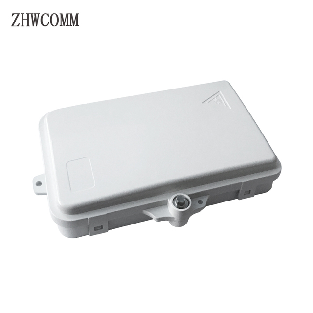 ZHWCOMM wysokiej jakości 4 rdzeń światłowodowy Terminal Box FTTH Box światłowodowa skrzynka rozdzielcza darmowa wysyłka