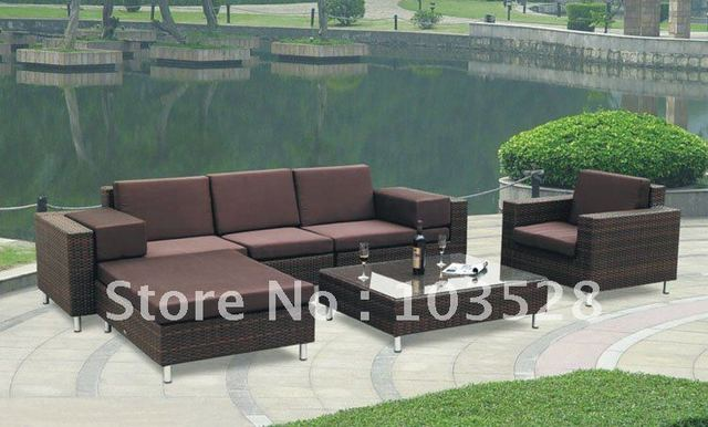 2012 hot model outdoor swimming pool furniture  sofa set PF-4060