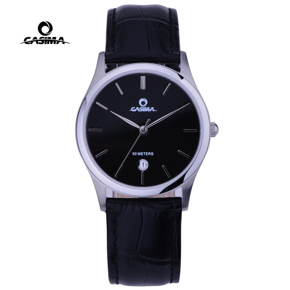 Mens Watches Top Brand Luxury Classic Business Dress Quartz Wrist Watch Man Waterproof Clock Men 2017 Reloj Hombre CASIMA #5124 top brand gold watches men classic business wrist watch fashion casual clock waterproof quartz watch reloj hombre montre homme