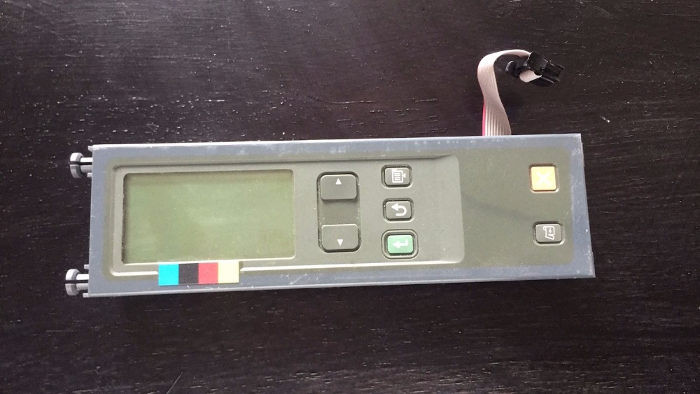LCD Display and Control Panel CH337-60001 for HP DESIGNJET 510 510PS PRINTER lc150x01 sl01 lc150x01 sl 01 lcd display screens