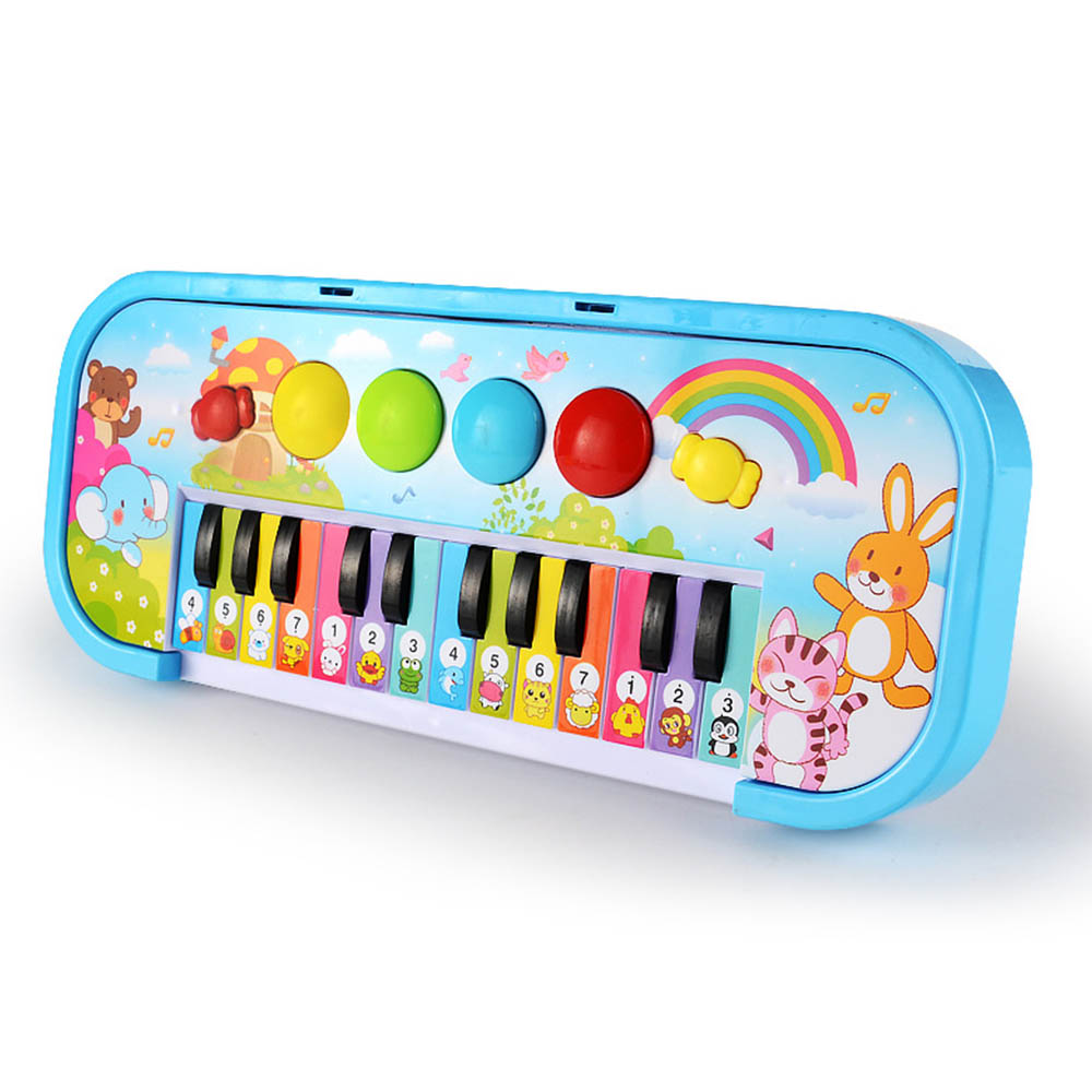 Baby Educational Vocal Toy Musical Instrument Toy Baby Kids Animal Flash Light Piano Developmental Music Toys For Children Gift