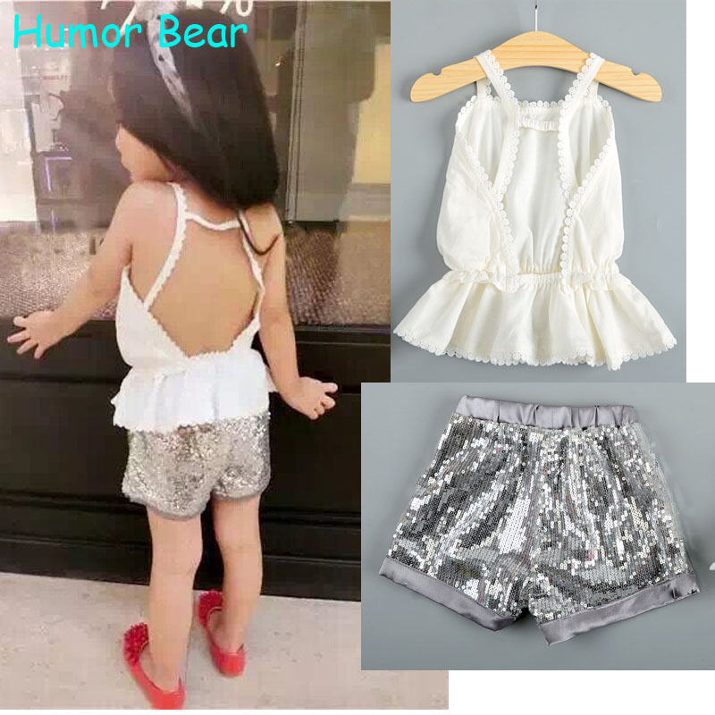 Humor Bear Kids Clothing Sets 2018 Casual clothes girls clothing sets girls clothes Girls Boys Clothing Sets