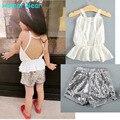 Humor Suportar Conjuntos de Roupas Infantis 2016 roupas Casuais conjuntos de roupas meninas meninas roupas Conjuntos de Roupas Meninos Meninas