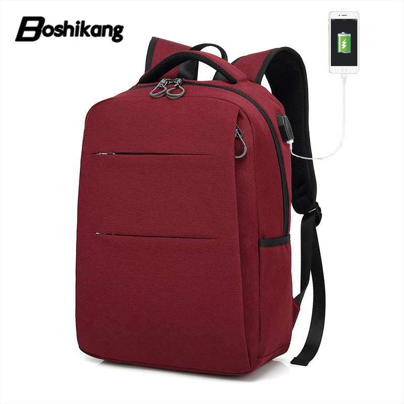 Boshikang Women Backpack High Quality Oxford School Backpack For Teenagers 15inch Laptop Bag Large Capacity Travel Bag Female