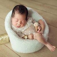 Newborn props baby photography accessories little sofa for newborn infant girl boy posing props toddler studio shoot fotografia