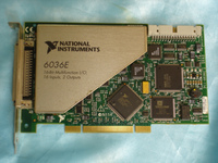 For 90% New American Genuine NI PCI 6036E Communication Data Acquisition DAQ Card USED