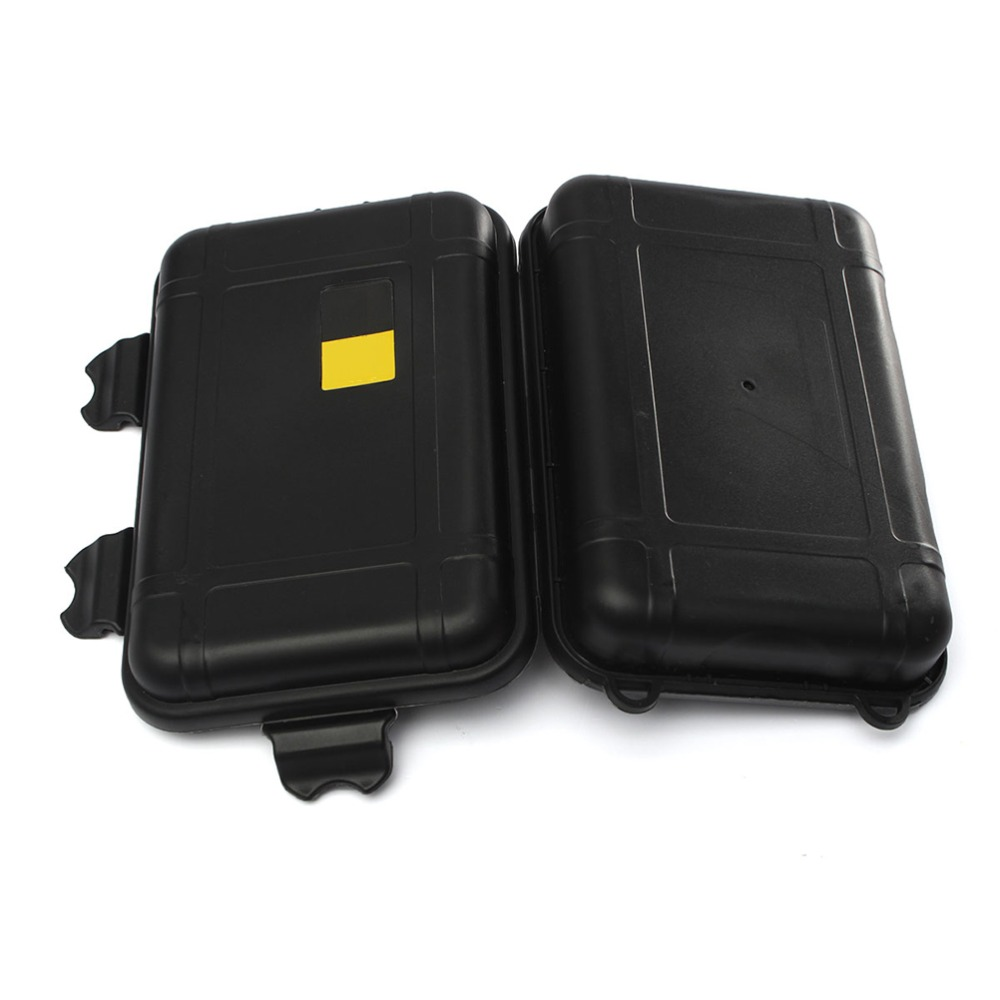 2 Sizes Outdoor Plastic Waterproof Airtight Survival Case Container StorageOIZ
