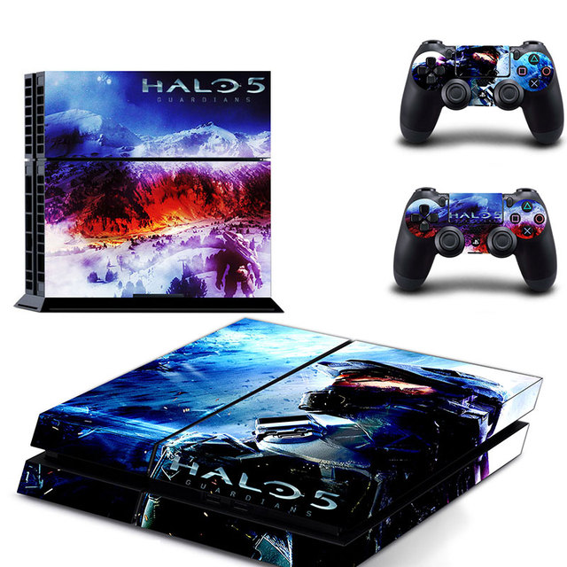US $11 99 |Halo 5 Game Sticker Decal Skin For SONY PlayStation 4 Console  Decor For PS4 + 2 Controller Skins No2 on Aliexpress com | Alibaba Group