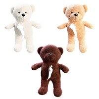 Tirol Car Back Seat Hanging Tissue Bag Plush Doll Teddy Bear Shape Hanging Bag For Easy