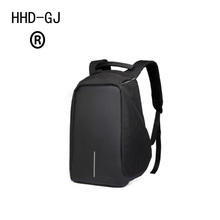 HHD-GJ New Style City Antitheft Mens Backpacks Laptop USB Charge Computer Backpack Casual Rucksack School Bag