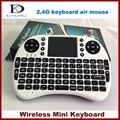 Alta qualidade 2.4 Ghz Mini teclado Wireless Handheld teclado Touchpad para PC Android tv, Htpc