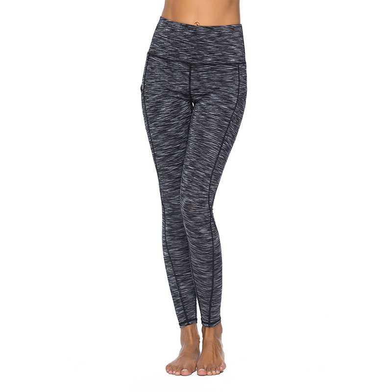 2019 yüksek bel spor legging kadınlar için cebi ile moda yeni kadın egzersiz streç pantolon artı boyutu elastik spor tayt