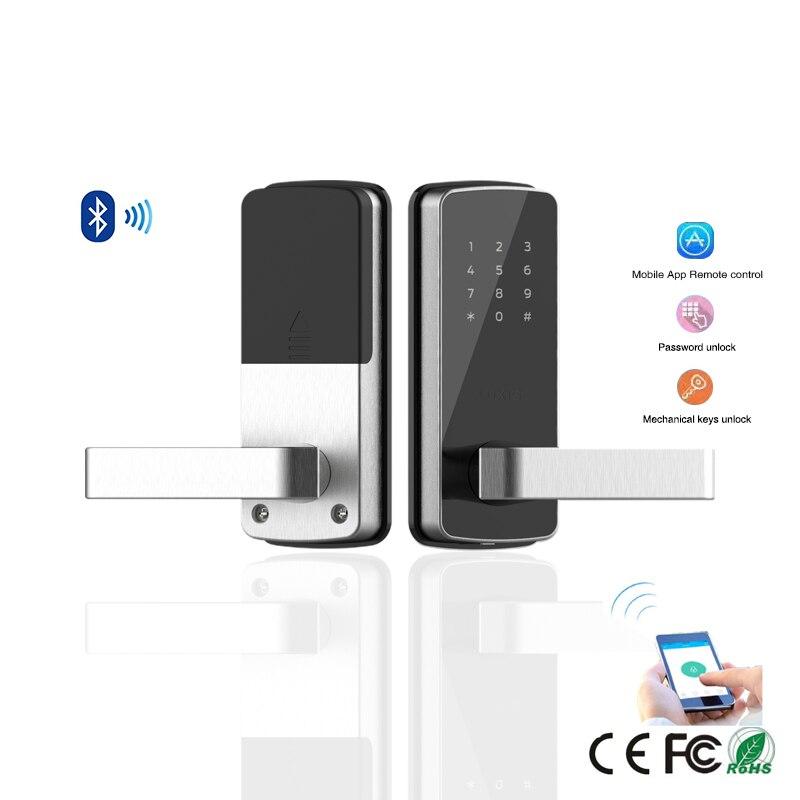 Keyless Electronic Door Lock Password Bluetooth Digital Smart Door Lock With TT lock App Remote Control for home and apartment apartment electric door lock keyless passcode lock with mini size