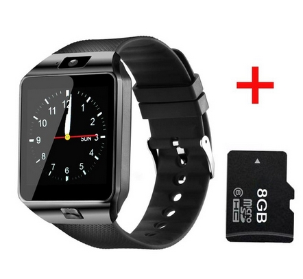 ABAY SmartWatch DZ09 Smart Watch Support Bluetooth SIM TF Card Passometer With Battery Wristwatches For Andriod Phone PK Y1 Q18