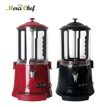 ITOP 10L Black Or Red Hot Chocolate Dispenser Machine Commercial Coffee Coco MilkTea Electric Heating System