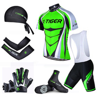 Pro X Tiger Summer Big Cycling Set Cycling Jersey Set MTB Bike Clothing Bicycle Clothes Verano