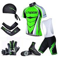 Pro X-Tiger Summer Đi Xe Đạp Lớn Thiết Lập! đi xe đạp Jersey Set MTB Bike Quần Áo Quần Áo Xe Đạp Verano Hàng Xấp Thơ Roupas Ciclismo Hombre