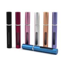 Travel Portable Refillable Perfume Atomizer Empty Bottle Pump Scent Spray Case