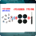 "Genuine NEW 4Pcs Laptop Rubber Bottom Case Cover Feet Foot Kit+Screws Set+Tools for Macbook Pro Retina A1502 A1398 A1425 13"" 15"""