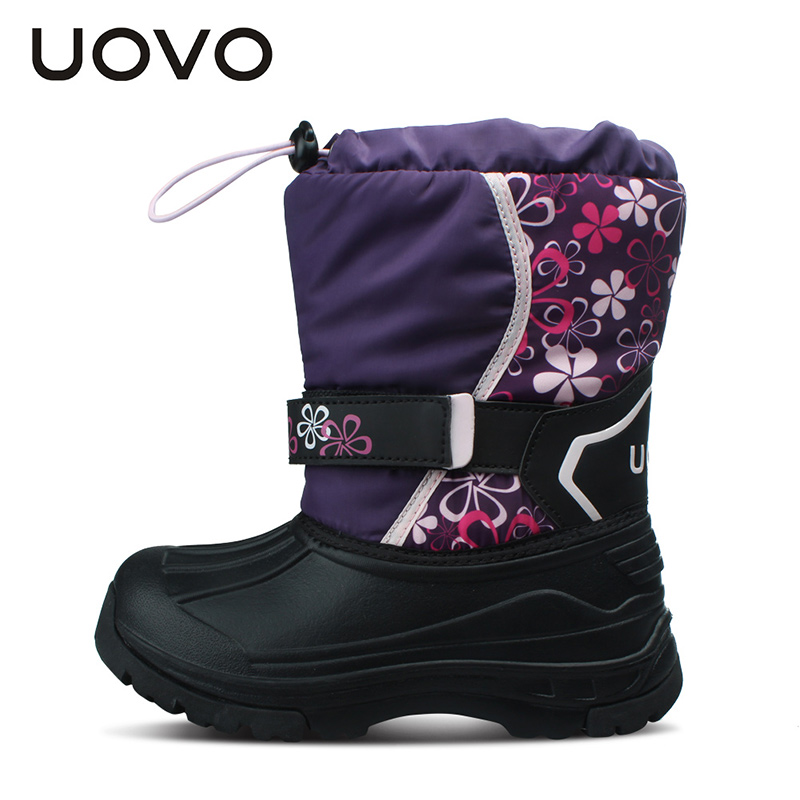 UOVO-Kids-Snow-Boots-Girls-Boys-Snow-Boots-Flower-Fashion-Winter-Shoes-Children-Boots-2