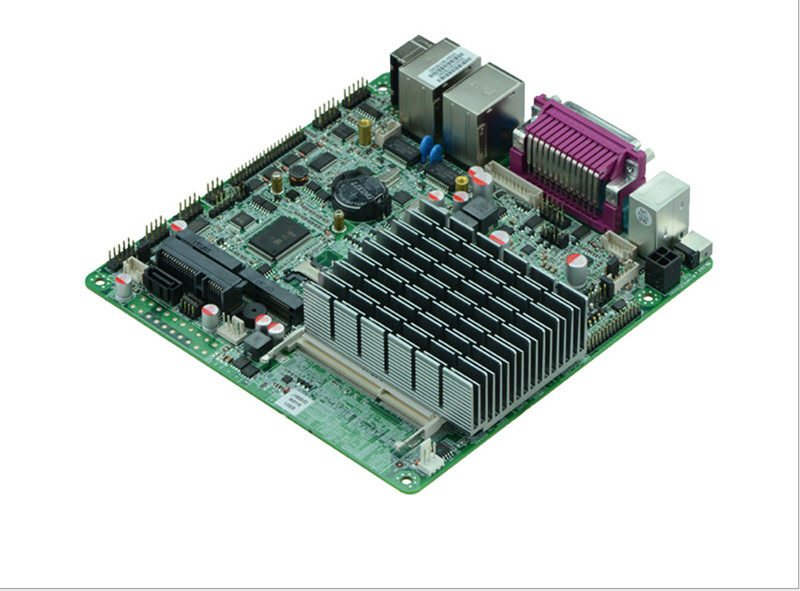 Hot sale Intel J1800/2.41 GHz dual lan mini motherboard thin client with fanless cheap mini server computer made in china Price: