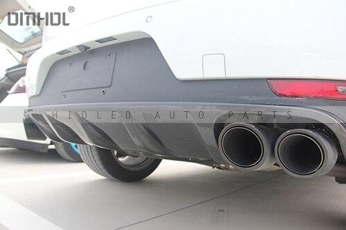Задний диффузор из углеродного волокна для Porsche Macan 14'-17' автостайлинг кузова