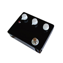 Blank Without Logo Black Klon Over Drive Guitar Pedal Effect Aluminum Alloy Box Switch Pedals