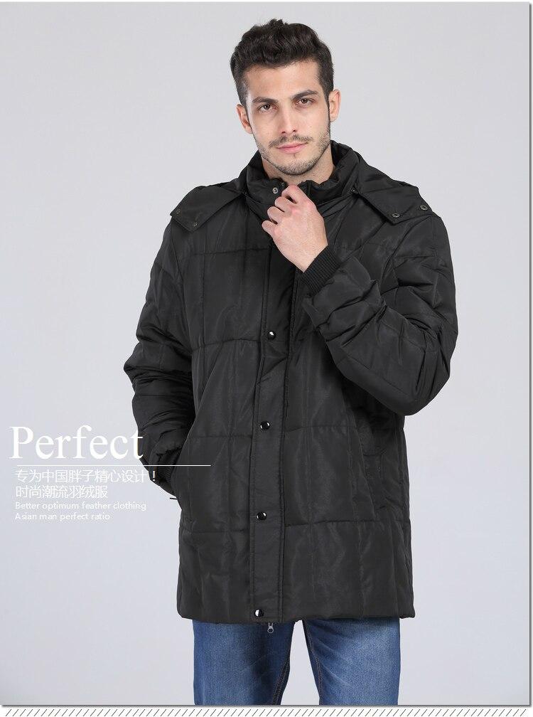 2018 New Down Coat Super Large 165cm Bust Thickening Jacket Men's Medium-long Large Size 5xl 6xl 7xl 8xl 9xl 10xl11xl12xl13xl Durable Service