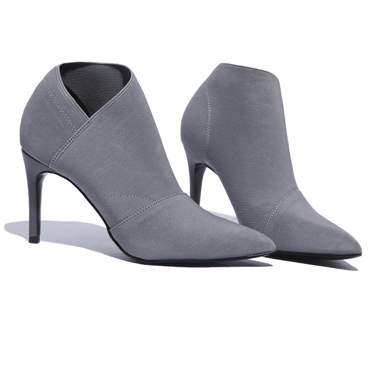 Hot Sale Europe And America Pointed Toe High-Heeled Women's Boots Autumn And Winter Fitted Women Female Single Shoes skullies gfs hot sale female tide leather braids knitted cap autumn and winter women s curling ear warmers headgear 1866784