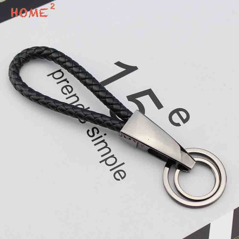 Car Keychain for Cadillac Srx Honda Civic 2006 2011 Suzuki Sx4 Mini Cooper R56 Keyring Braided Rope Auto Key Ring Accessories in Key Rings from Automobiles Motorcycles