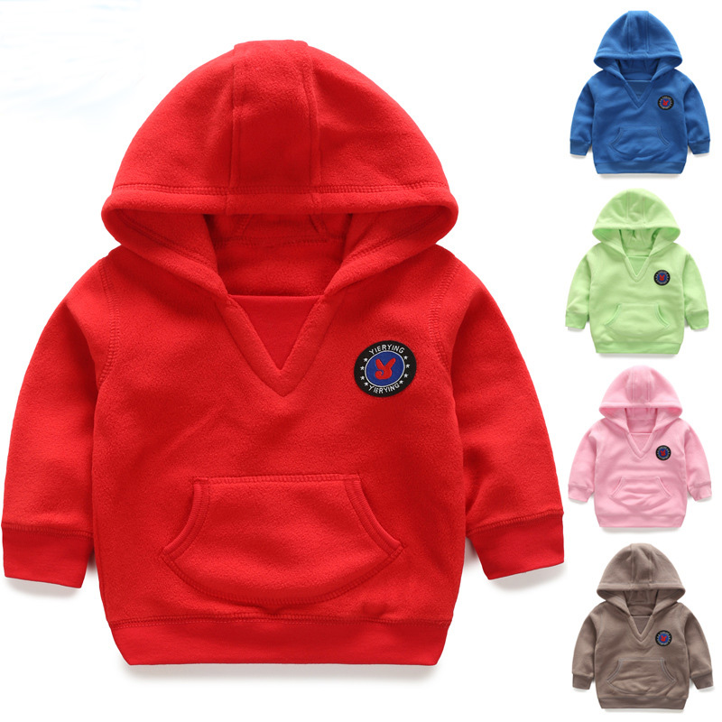 2017 Autumn and Winter Coat New Baby Boys and Girls Go Out Clothing Baby Fashion Coat Sweater Coat Boy Clothes