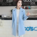 2016 Autumn  Winter/ female Woolen coat /Long section/Comfortable/Slim /Keep warm/big size/ tb211011