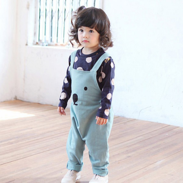 Kids-Baby-Girls-Boys-Unisex-Polka-Dots-Long-Sleeve-Tops-T-Shirt-Cotton-Basic-Tees-Clothing-4
