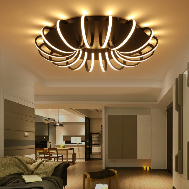 Awesome Led Verlichting Woonkamer Plafond Pictures - House Design ...