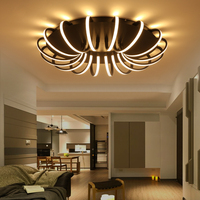 Creative personality Ceiling Lights led living room lights simple modern artists bedroom book room restaurant lights LU811240