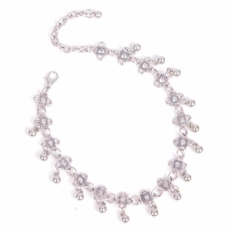 LNRRABC חדש 2019 קיץ נשים ליידי הילדה צמיד אופנה מקסים טרנדי פרח חרוזים ציצית החוף טיבטי צמיד צמיד מתנה