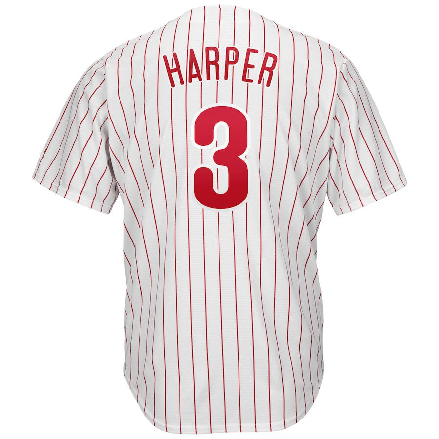 2019 New Men s Bryce Harper Custom Philadelphia Jersey Usa Baseball Jersey