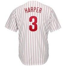 Новинка 2019 года для мужчин Брайс Харпер на заказ Филадельфия Джерси США Бейсбол Джерси