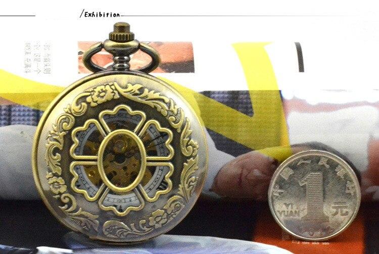 Relógio Pingente Escultura Clássica das Mulheres Pétala
