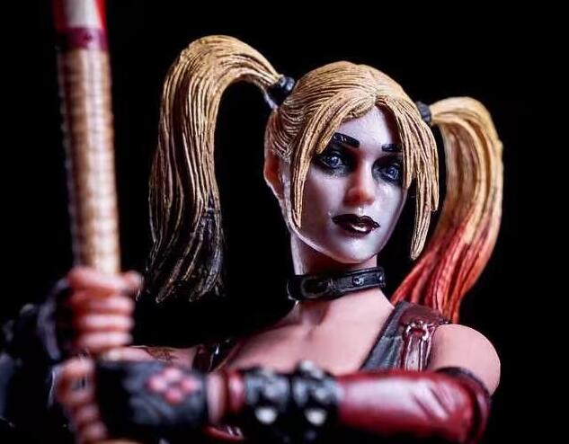 Suicide Squad Batman Begins Harley Quinn Figure Arkham City with Baseball Bat and Gun Action Figures Model Toy Doll Gift (6)